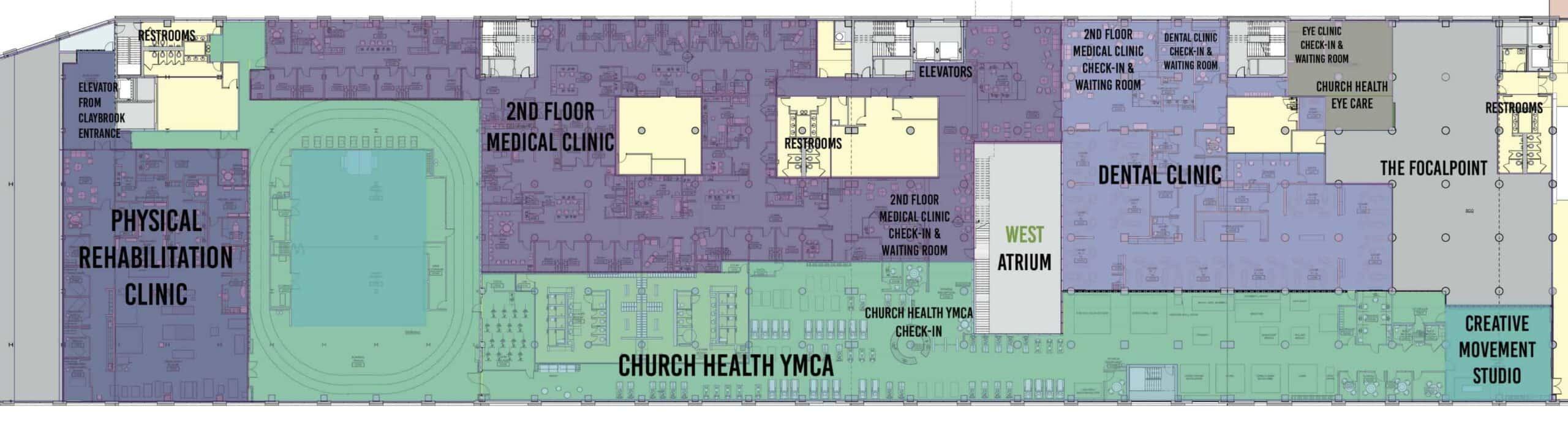 Crosstown Concourse at Church Health Memphis