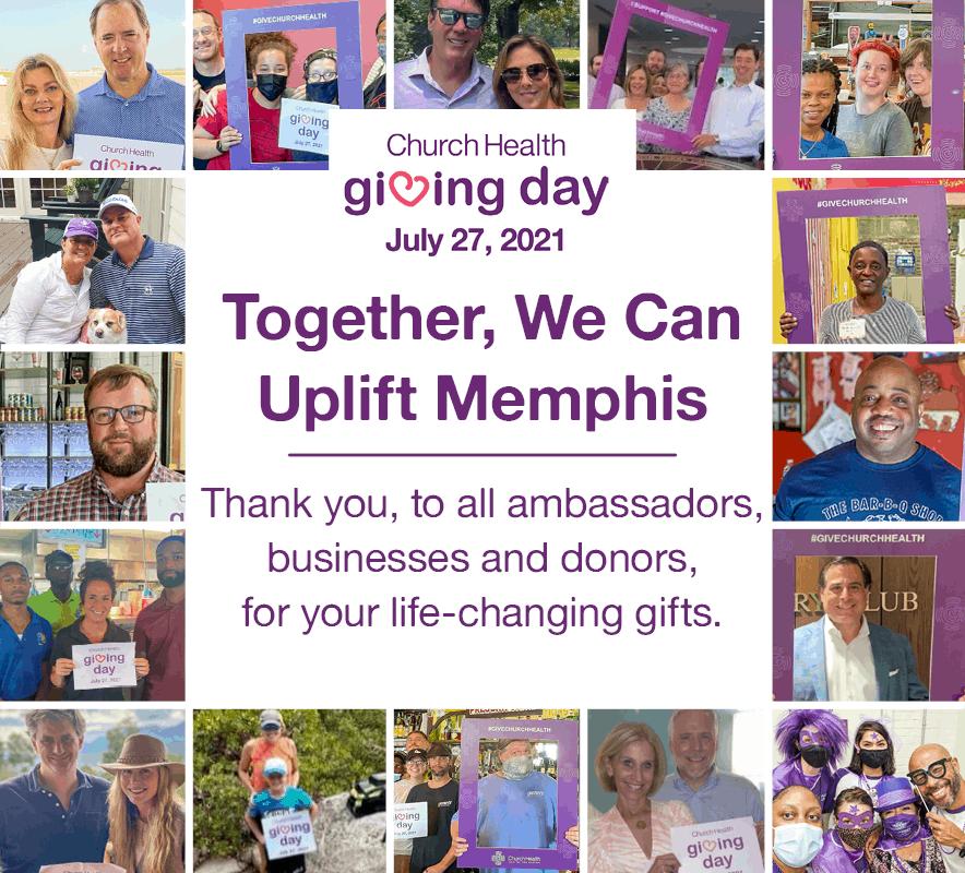 Giving Day 2021 at Church Health Memphis