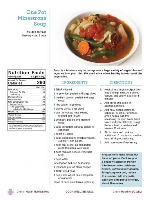Week 4 recipes_Minestrone